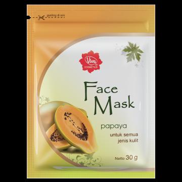 Face Mask Papaya