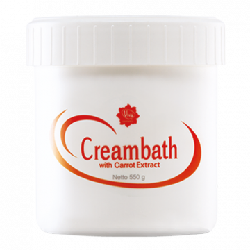 CREAMBATH WITH CARROT EXTRACT