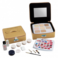 Cosmetics Pallete Bag - Blue Series