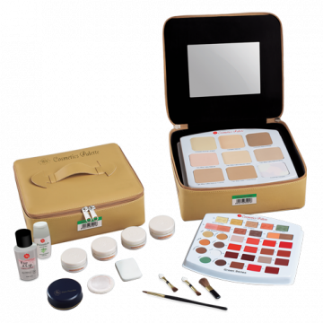 Cosmetics Pallete Refill - Green Series