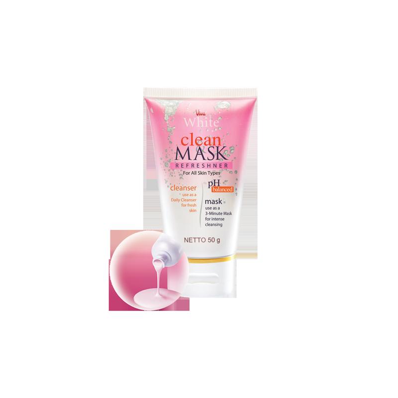 Clean & Mask Refreshner For All Skin Types
