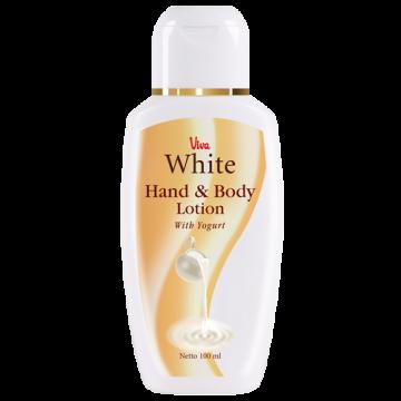 Viva White Hand & Body Lotion  - Yogurt