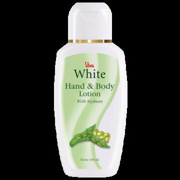Viva White Hand & Body Lotion - Soybean