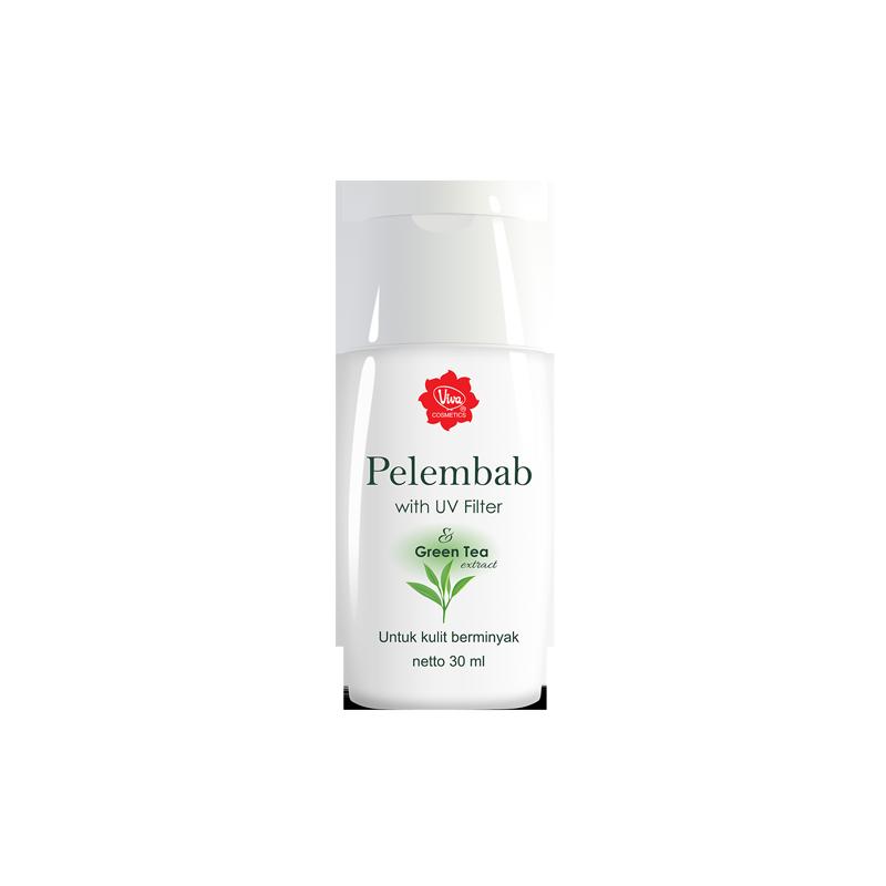 Viva Pelembab Green Tea UV Filter (Oil Control)